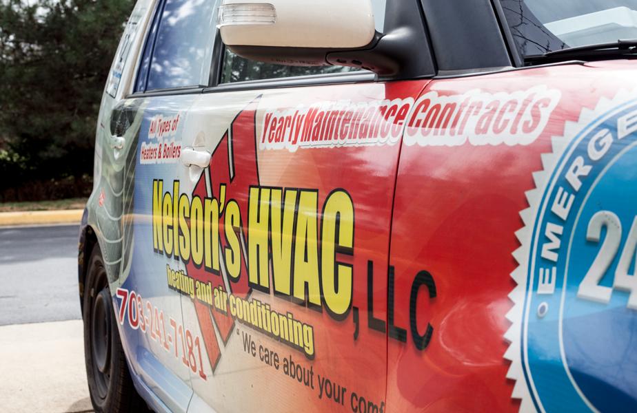 Nelson's HVAC Car